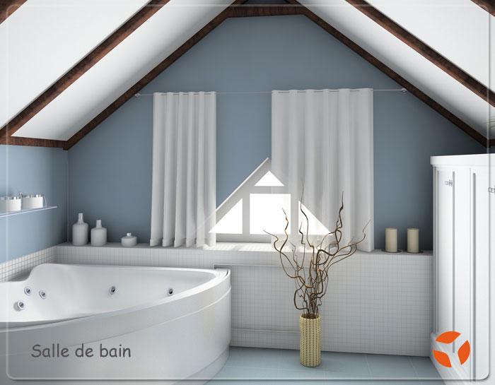 Billet artisan plombier chauffagiste amm nagement salle de bain - Exemple amenagement salle de bain ...