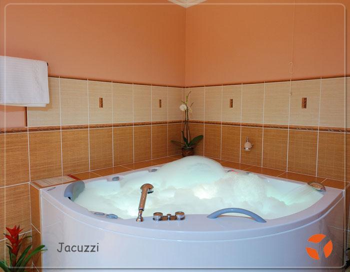 Awesome modele de salle de bain avec jacuzzi pictures for Salle de bain jacuzzi